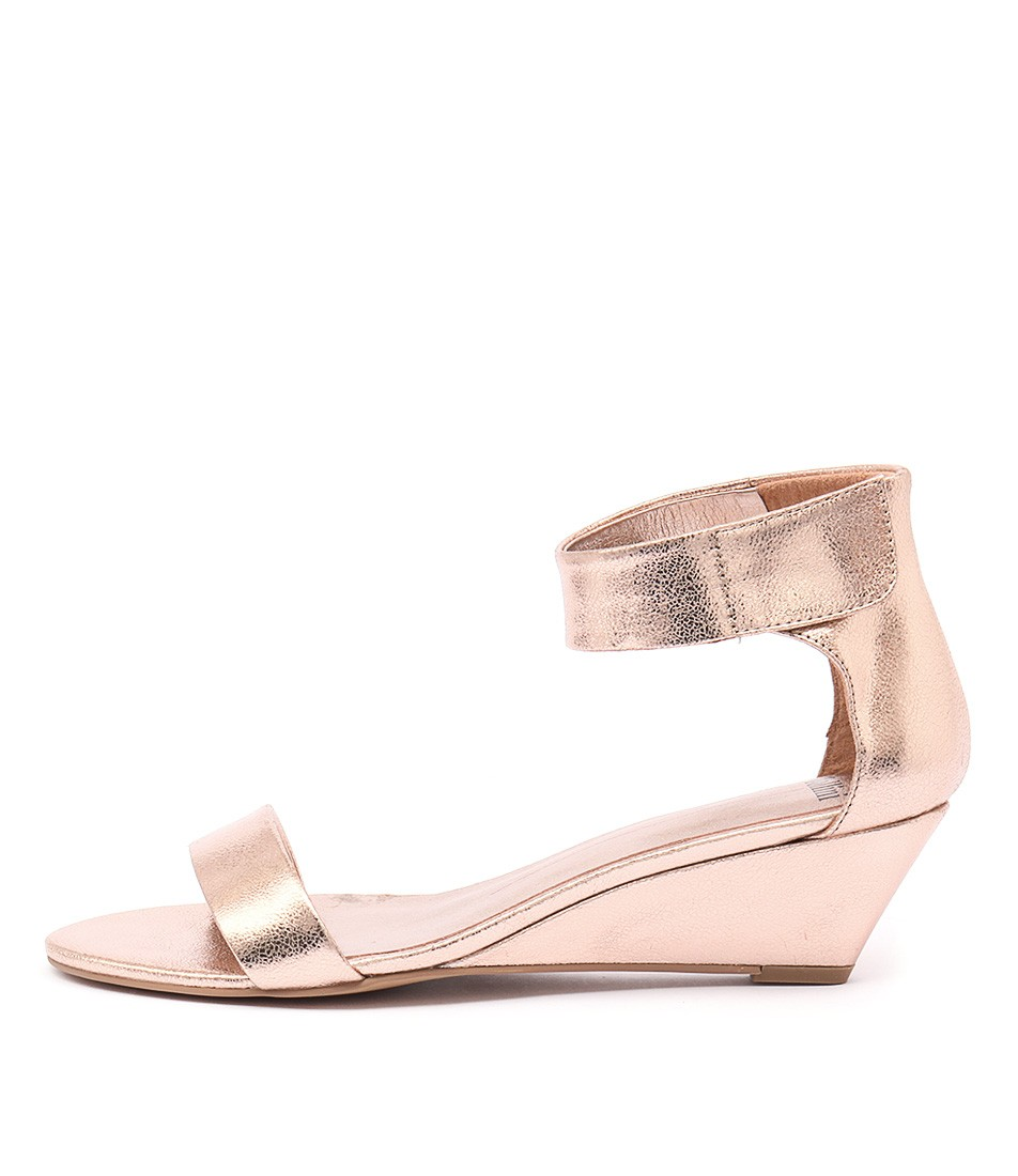 Photo of Mollini Marsy Rose Gold Heeled Sandals womens shoes