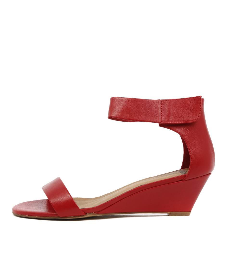 Mollini Marsy Red Heeled Sandals