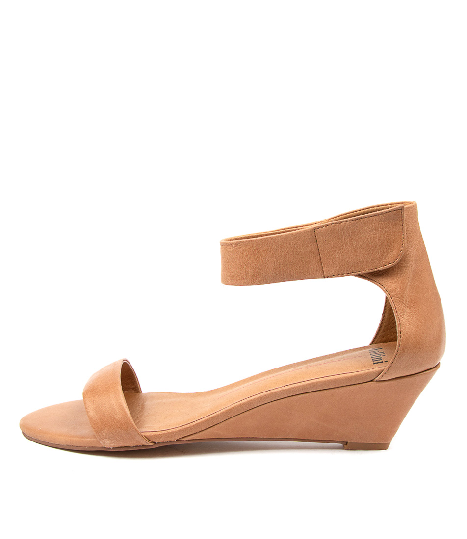 Buy Mollini Marsy Dk Tan Heeled Sandals online with free shipping
