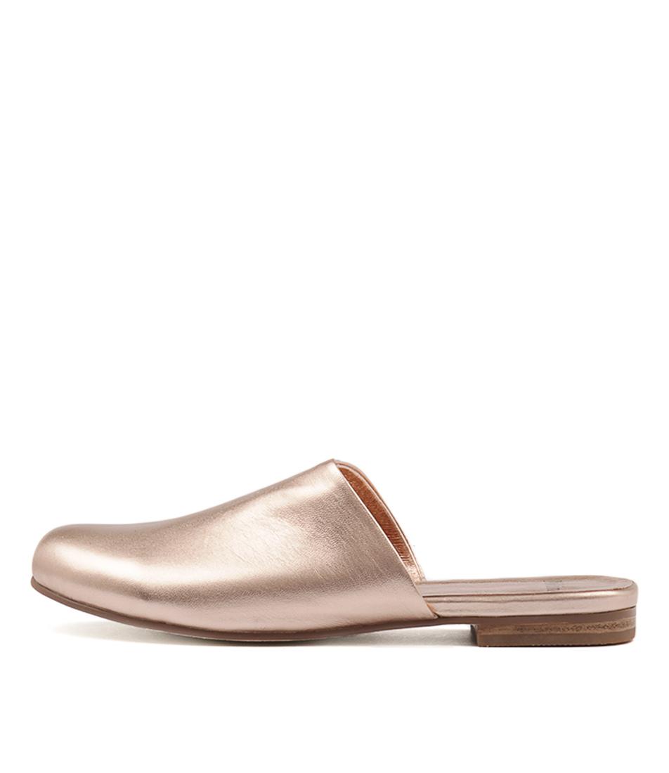 Mollini Daniel Rose Gold Flat Shoes