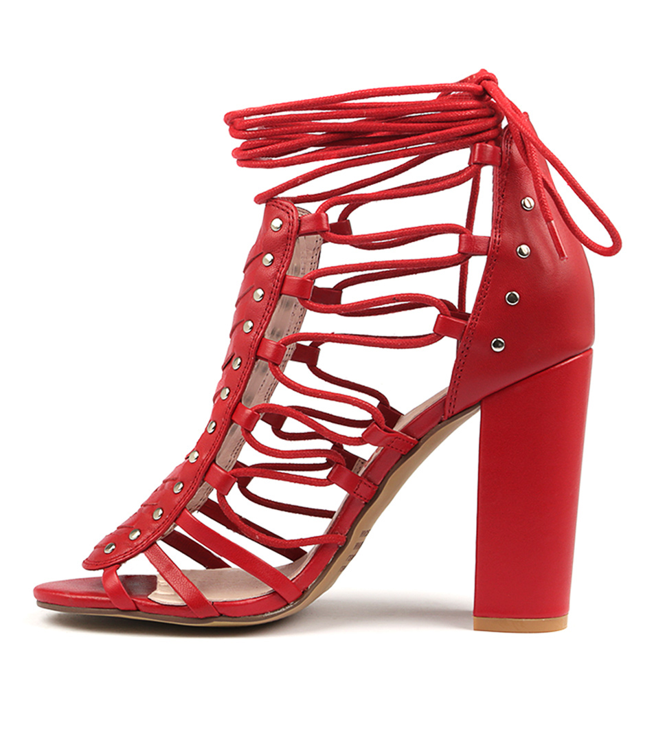 Buy Mollini Morris Red Heeled Sandals online with free shipping
