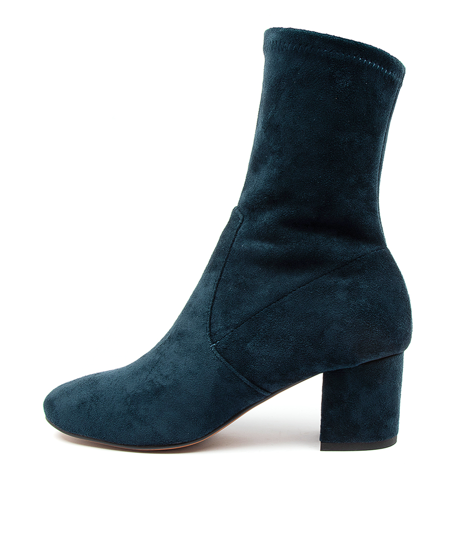 Buy Mollini Careful Navy Ankle Boots online with free shipping