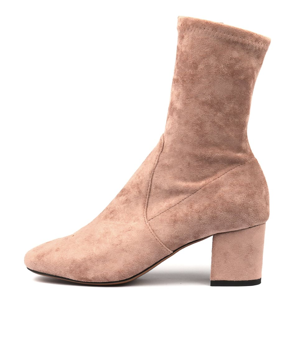 Buy Mollini Careful Blush Ankle Boots online with free shipping