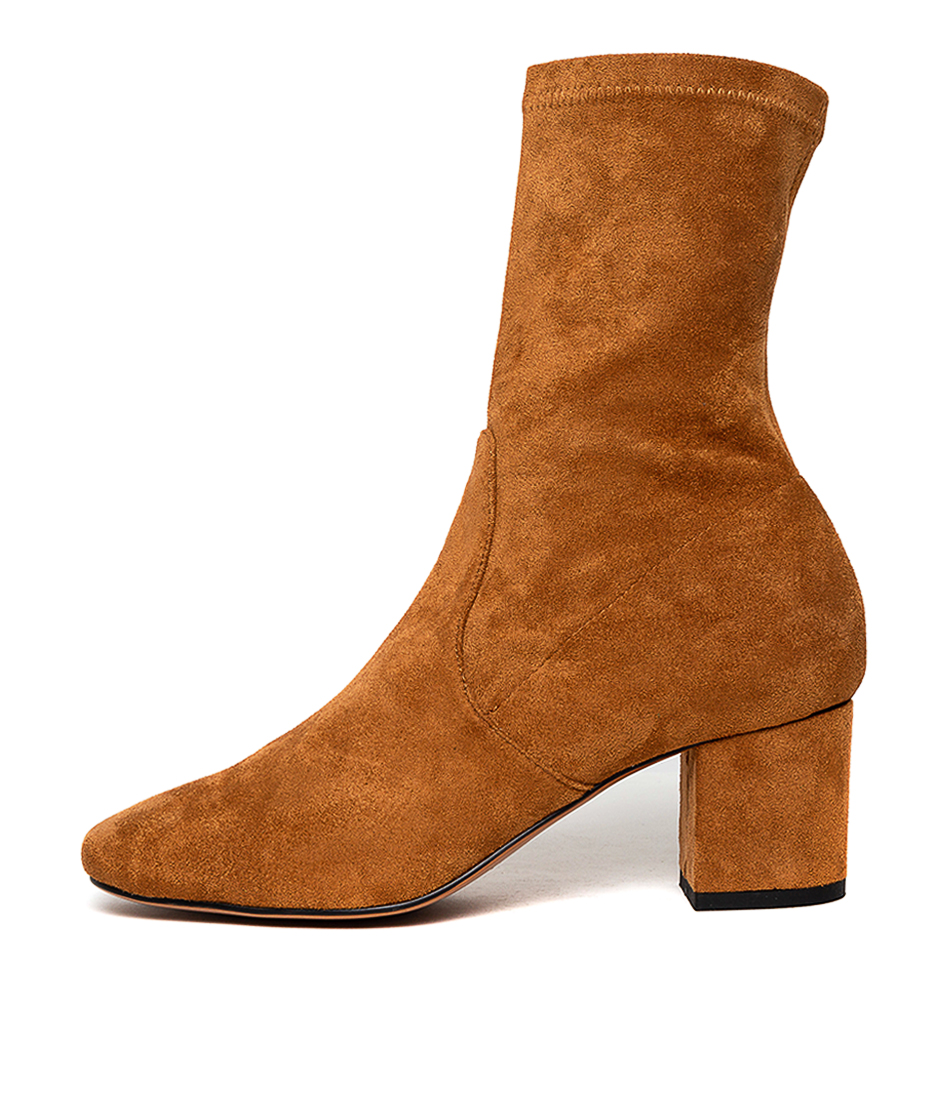Buy Mollini Careful Whisky Ankle Boots online with free shipping