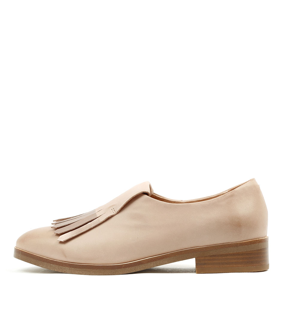 Mollini Devious Nude Rose Gold Flat Shoes
