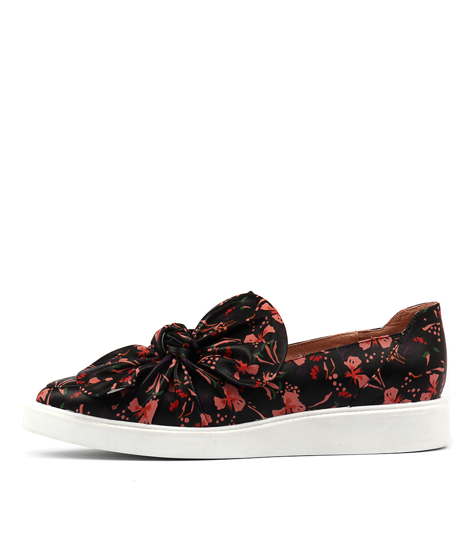 Mollini Daces Black Floral Sneakers