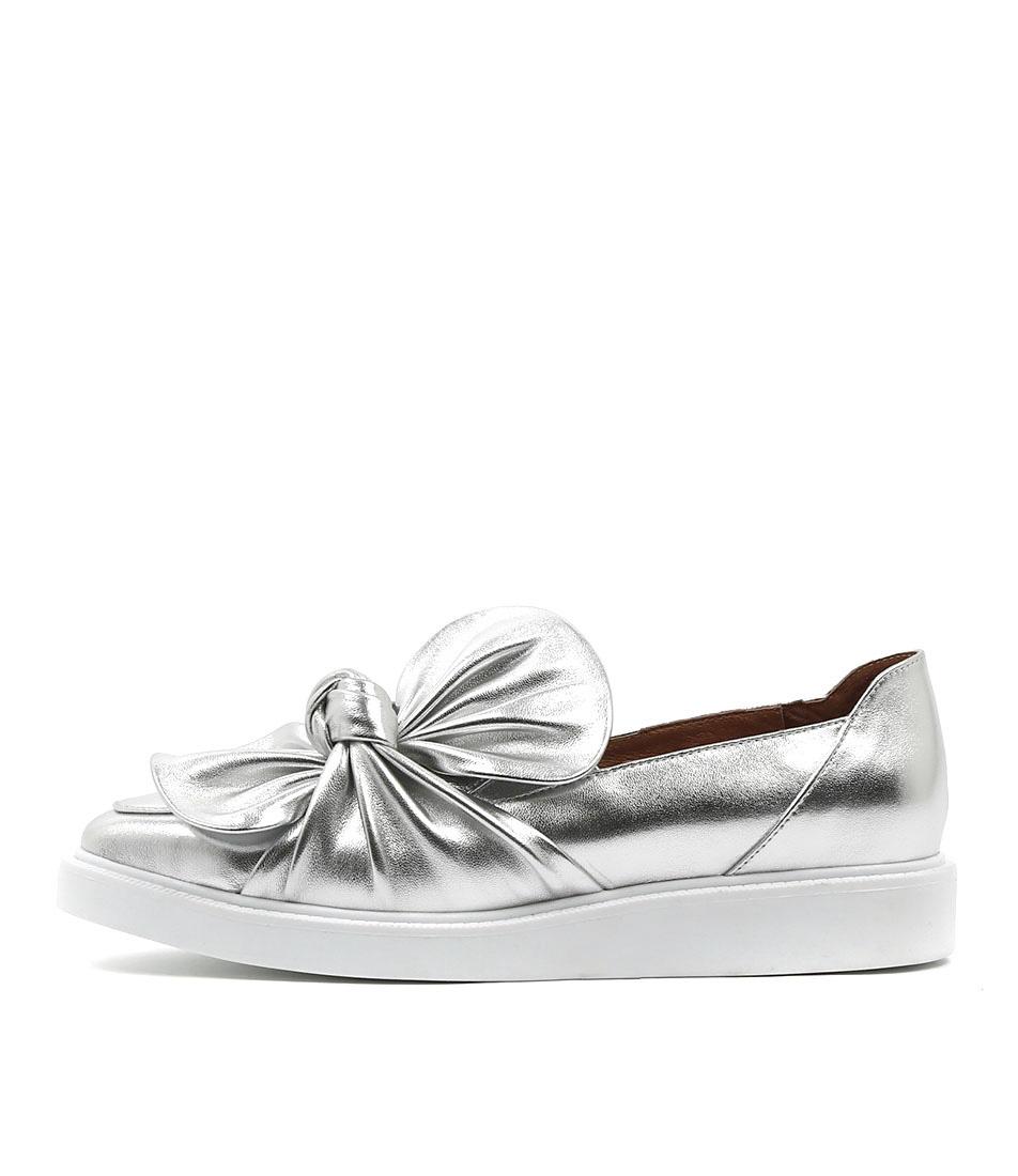 buy Mollini Daces Silver Sneakers shop Mollini Sneakers online