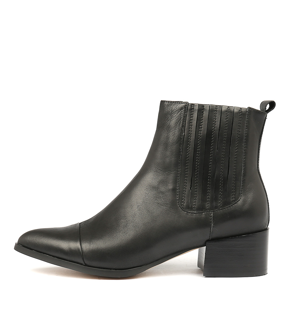 Buy Mollini Daquri Black Ankle Boots online with free shipping