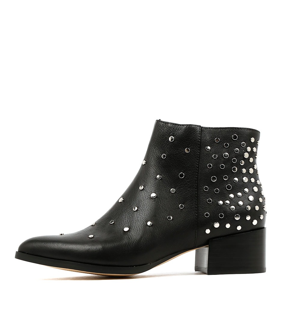 Mollini Dello Black Ankle Boots