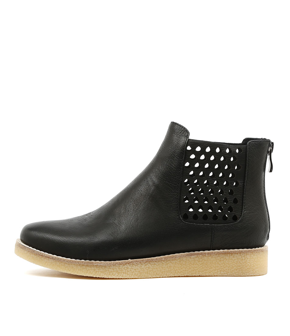 Mollini Ellos Black Ankle Boots