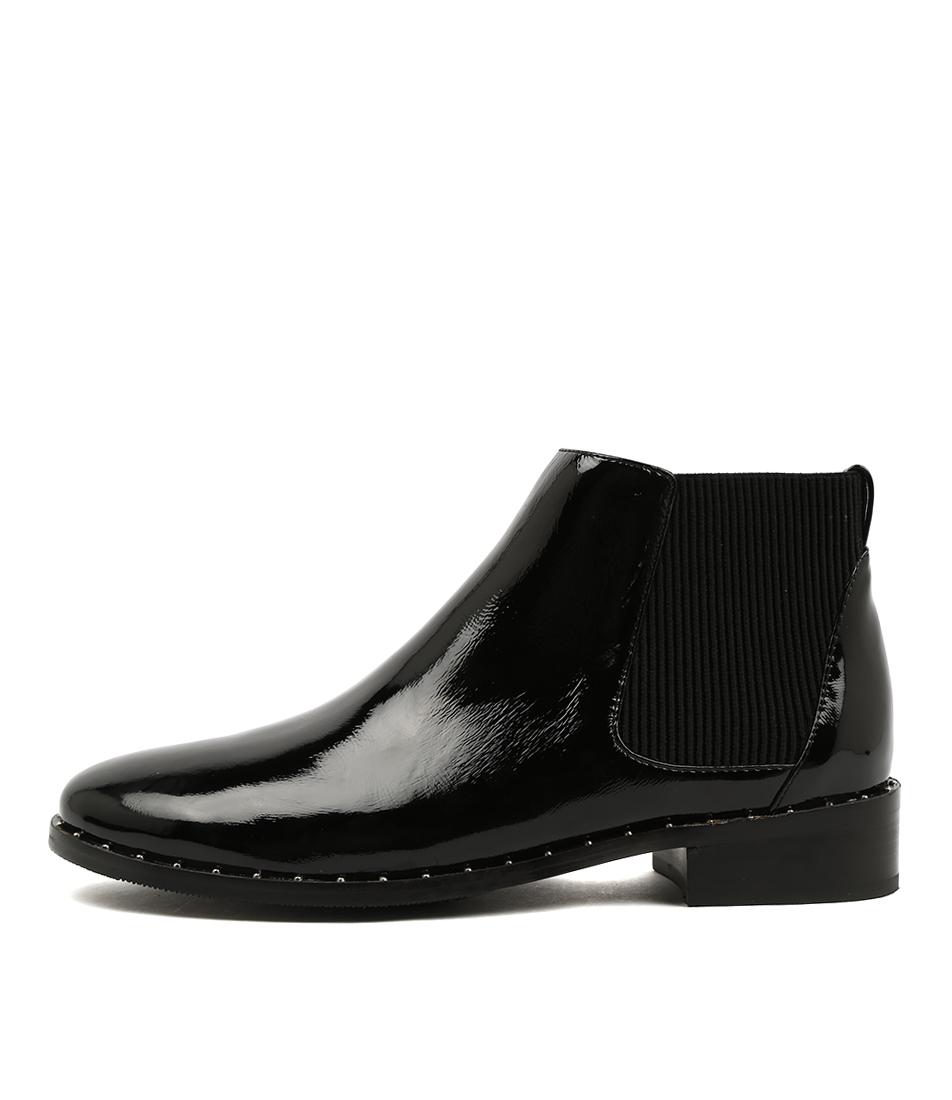 Mollini Farr Black Casual Ankle Boots
