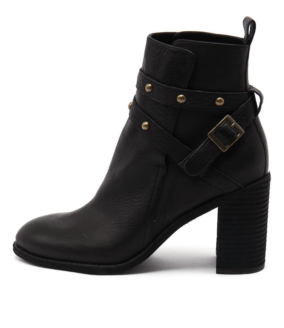 Mollini Gride Black Ankle Boots