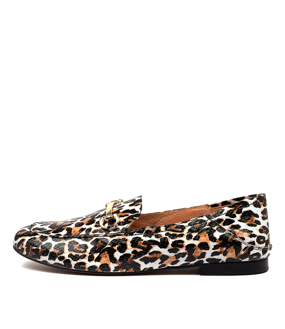 Buy Mollini Gablaze Ocelot Print Flats online with free shipping