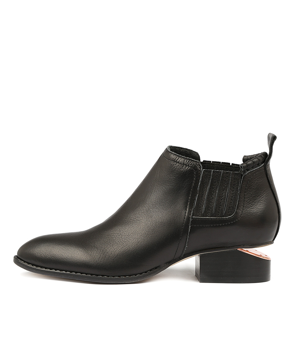 Mollini Iso Black Ankle Boots