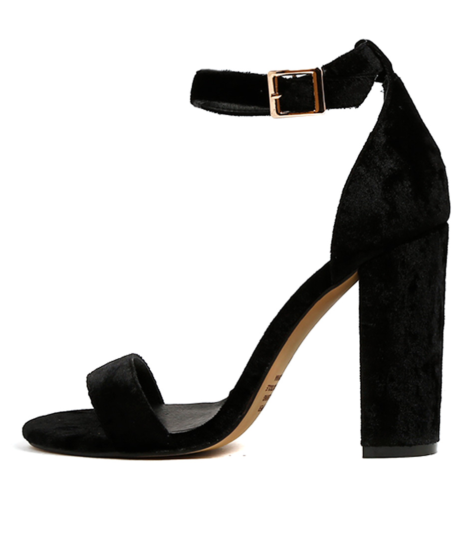 Mollini Magnifico Black Heeled Sandals