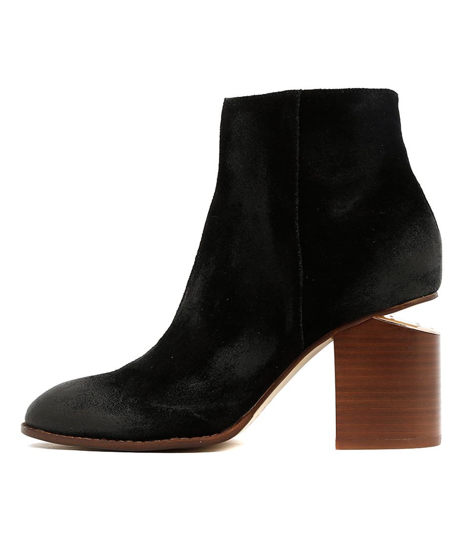 Mollini Vola Black Ankle Boots
