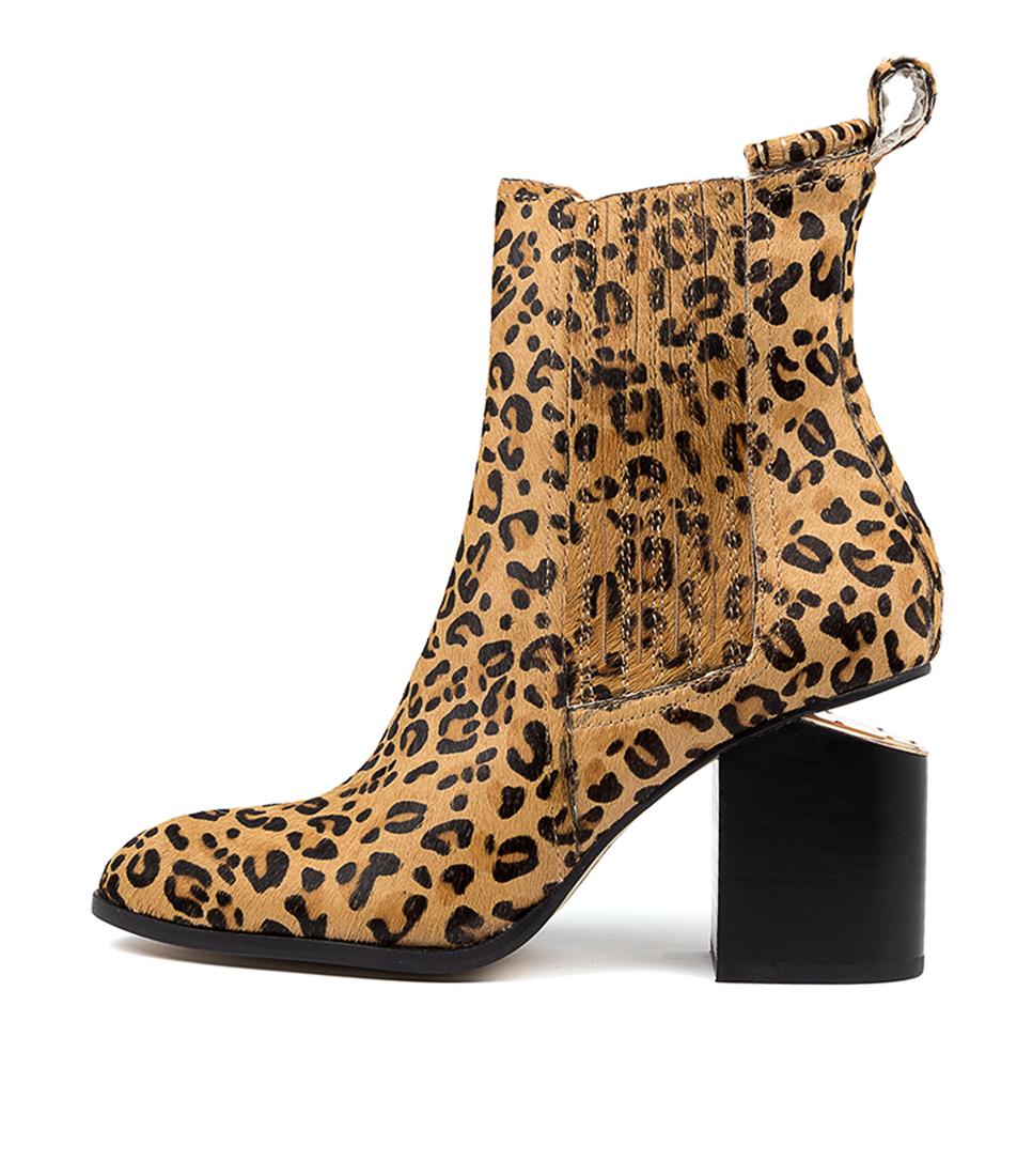 Buy Mollini Vulcan Ocelot Ankle Boots online with free shipping