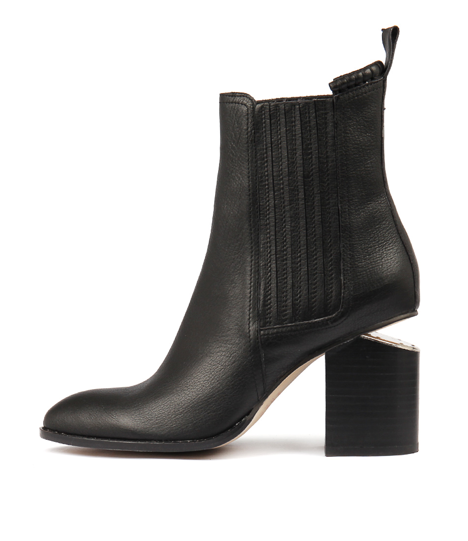 Buy Mollini Vulcan Black Ankle Boots online with free shipping