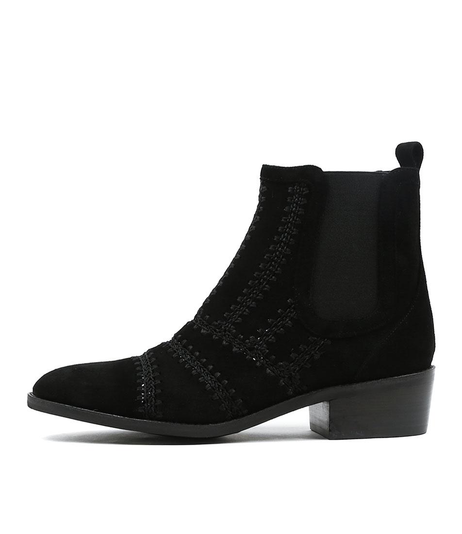 Mollini Zimba Black Ankle Boots