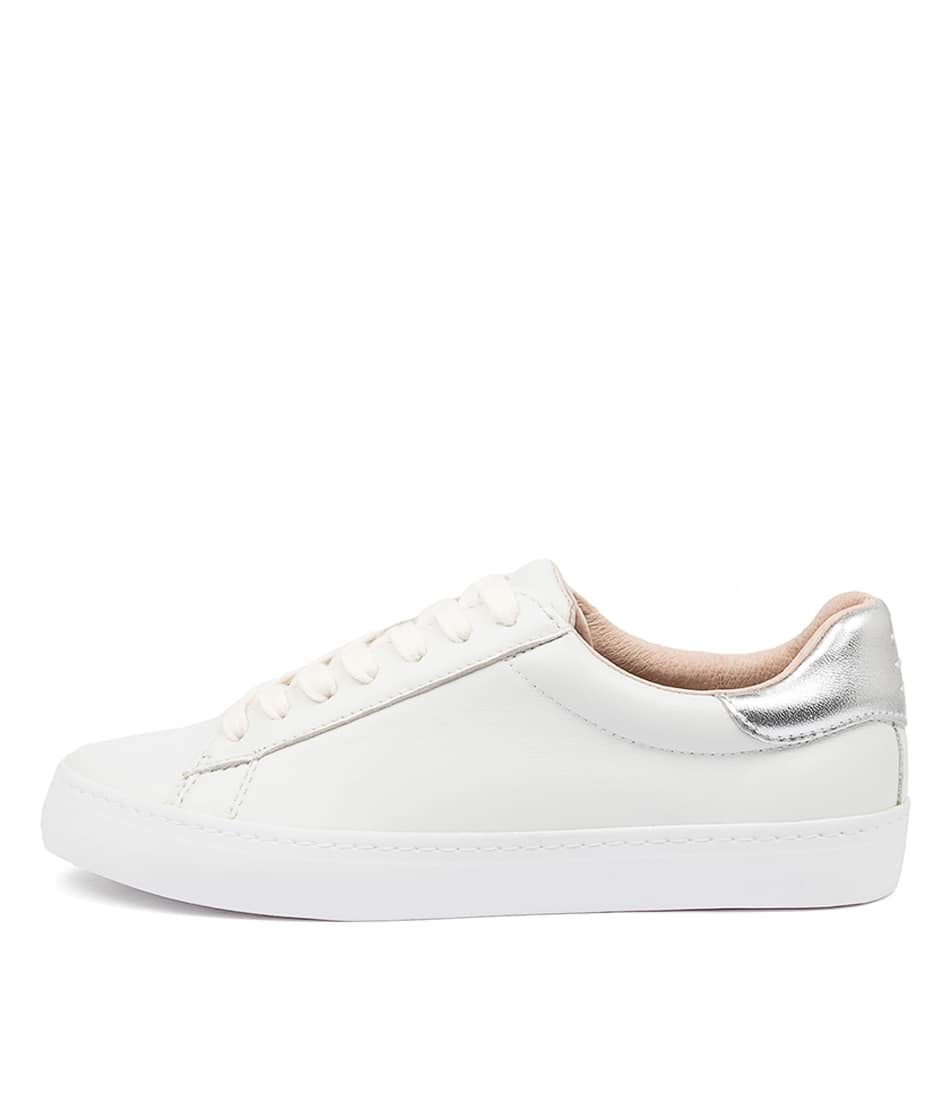 Buy Mollini Session White Silver Sneakers online with free shipping