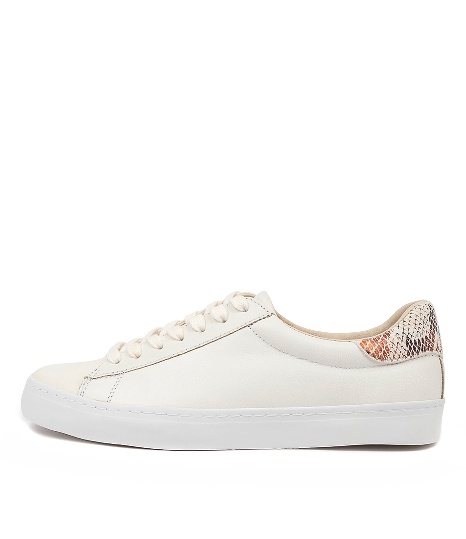 Buy Mollini Session White Black & White Sneakers online with free shipping