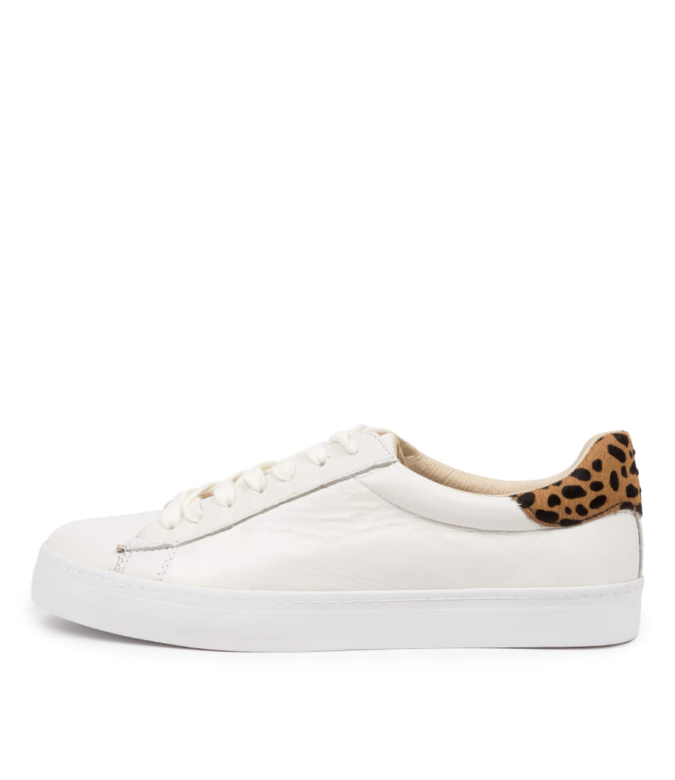 Buy Mollini Session White Cheetah Sneakers online with free shipping