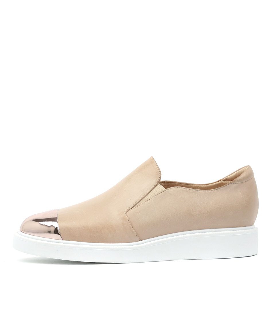 Mollini Deelie Rose Gold Nude Sneakers
