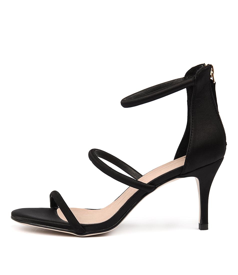 Mollini Charlot Black Heeled Sandals
