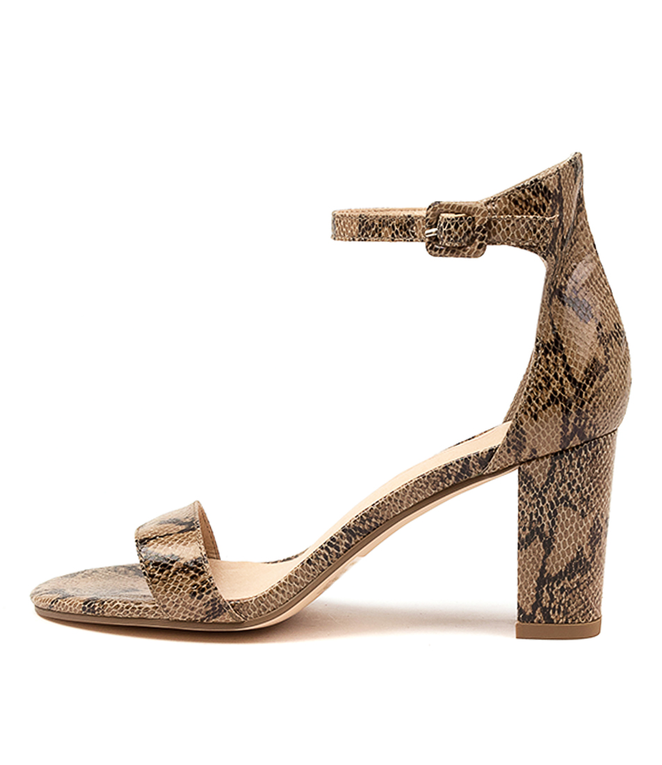 Buy Mollini Gessie Natural Heeled Sandals online with free shipping