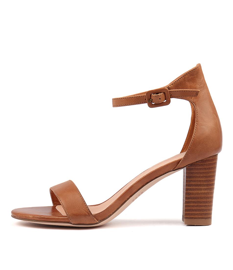 Buy Mollini Gessie Tan Veneer Heel Heeled Sandals online with free shipping