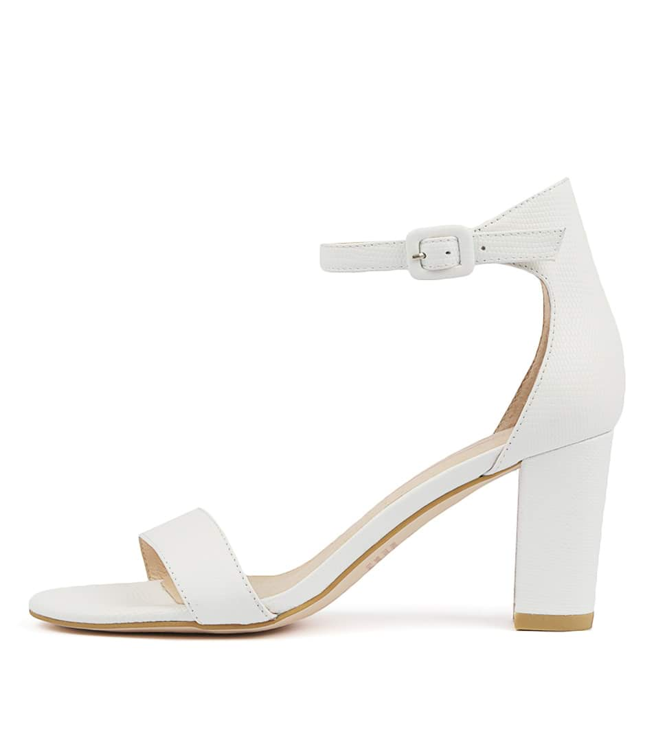 Buy Mollini Gessie White Heeled Sandals online with free shipping