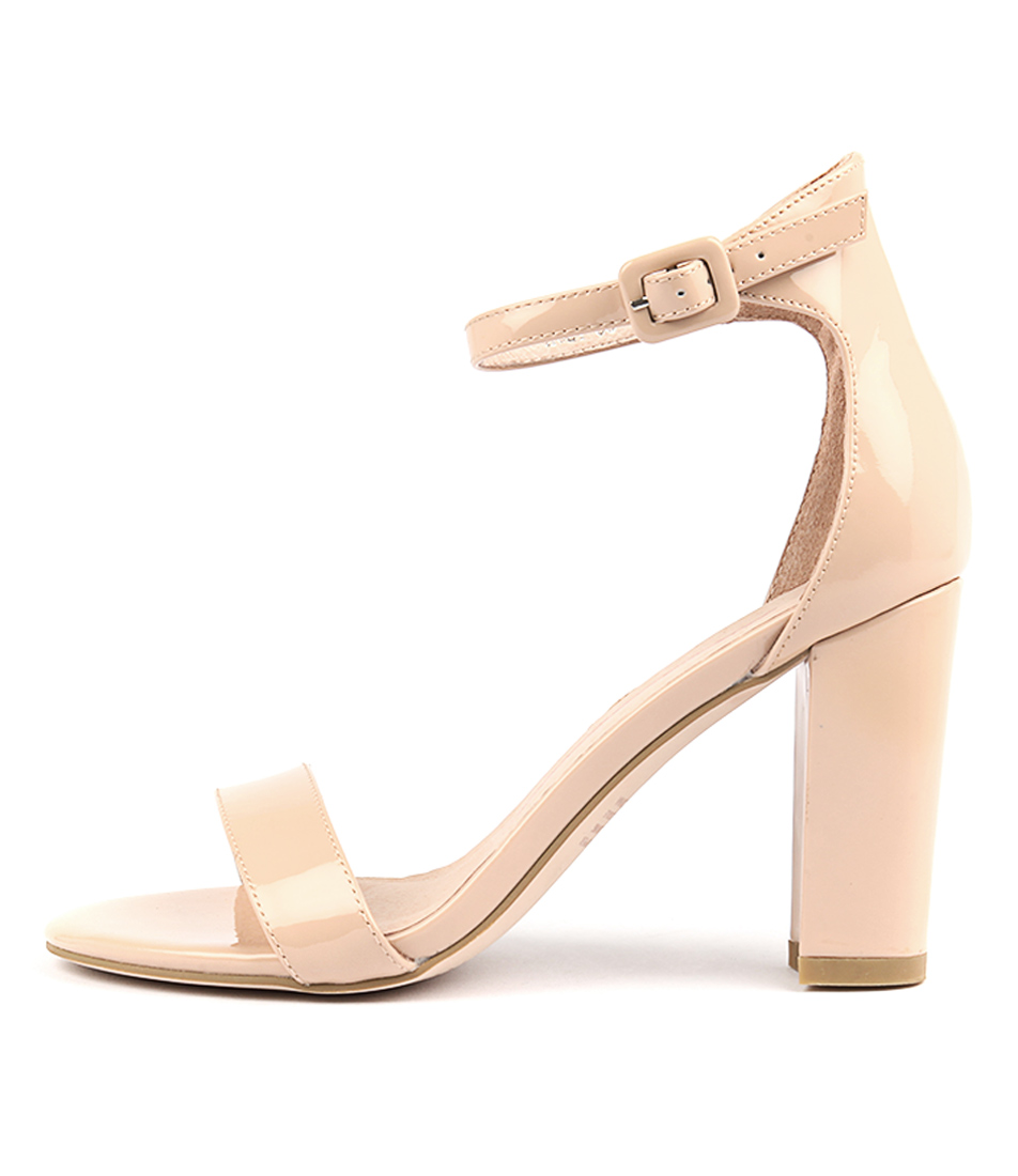 Mollini Huey Nude Heeled Sandals
