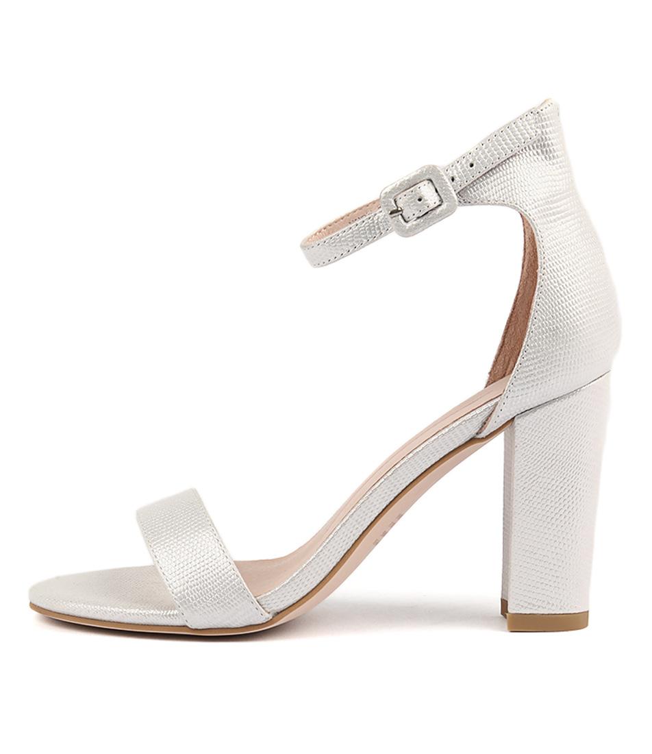 Mollini Huey Silver Heeled Sandals