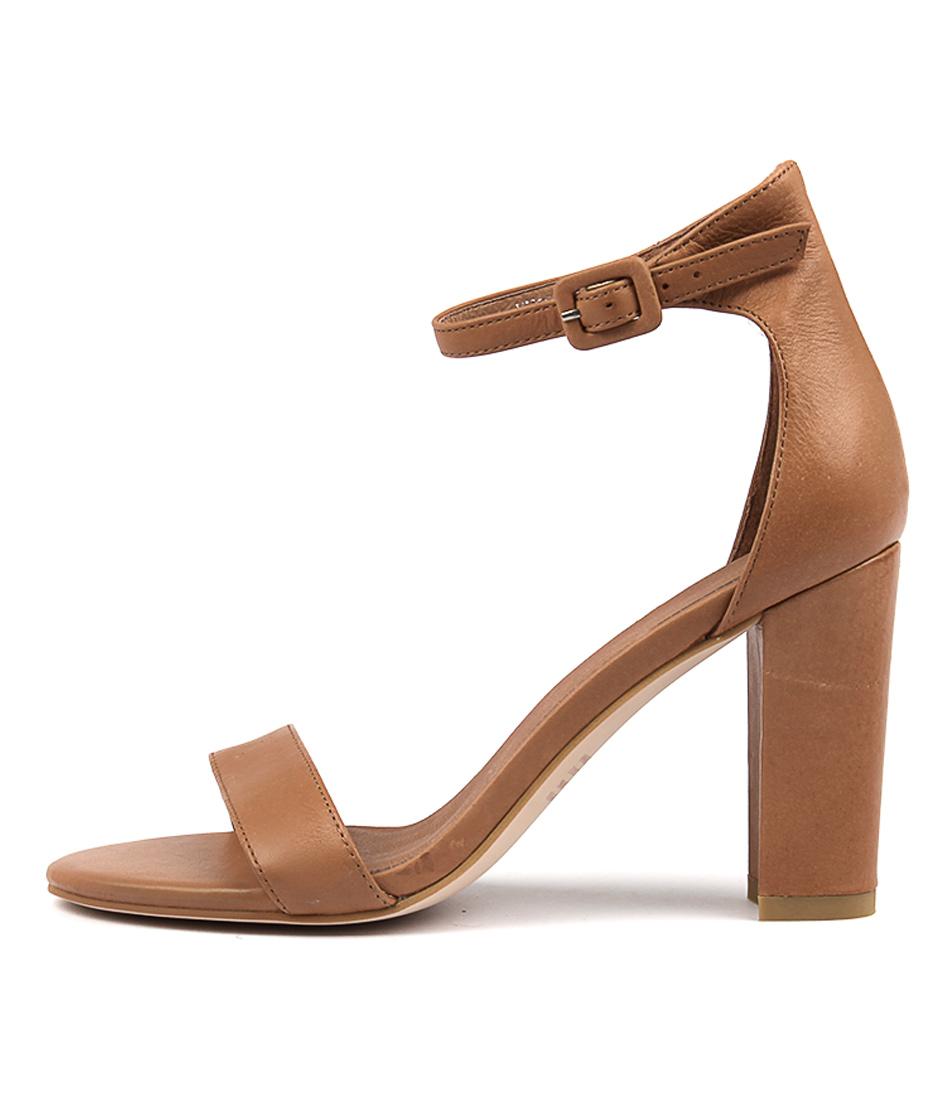Mollini Huey Dk Tan Heeled Sandals