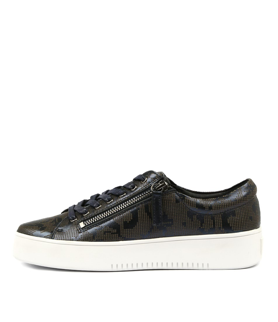 Mollini Loddy Navy Metallic Sneakers