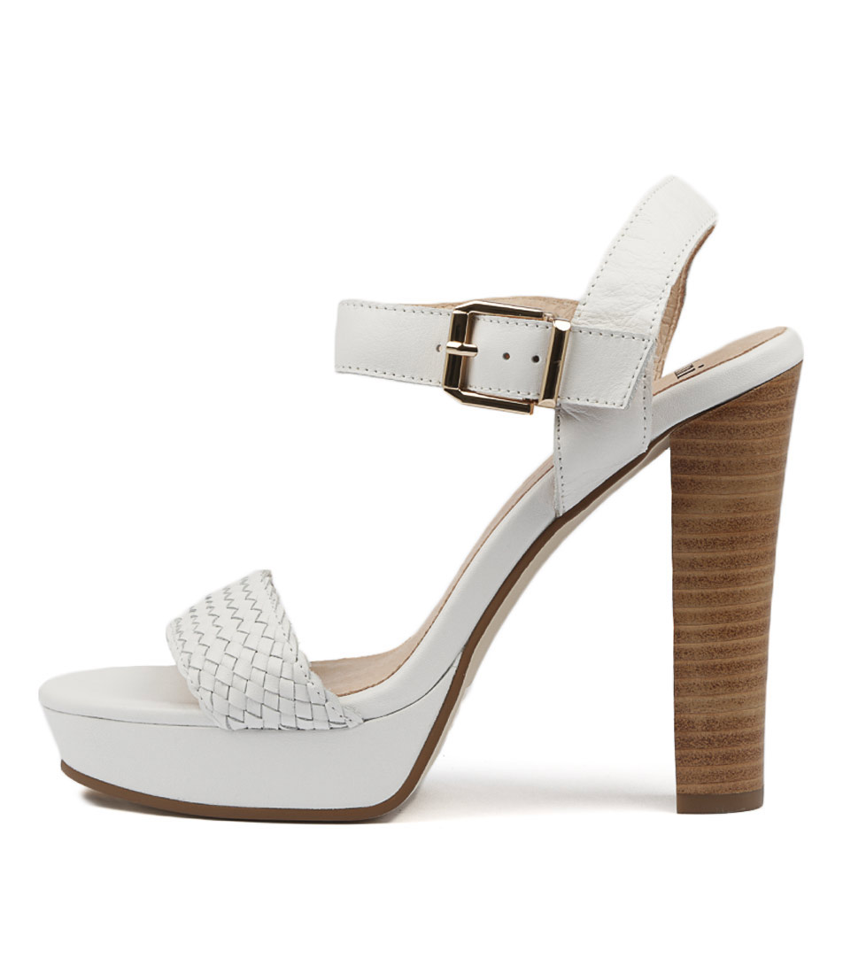 Buy Mollini Martynis White Heeled Sandals online with free shipping