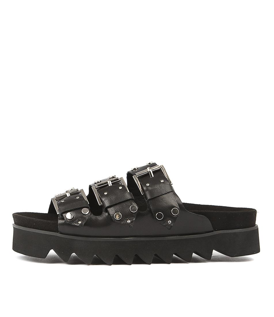 Mollini Primped Black Sandals