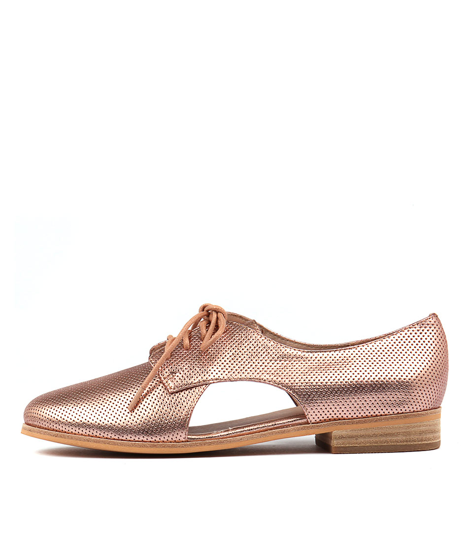 Mollini Queneva Rose Gold Flat Shoes