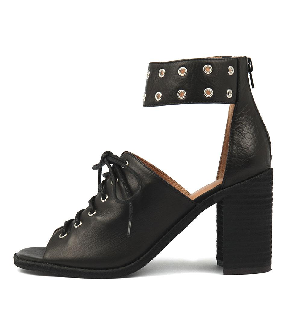 Mollini Jinar Black Heeled Sandals