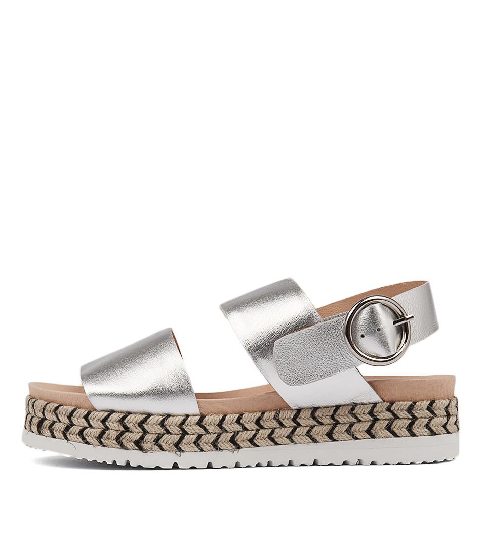 Mollini Joseph Silver Sandals