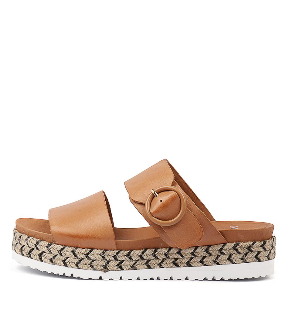 Buy Mollini Joslyn Tan Flat Sandals online with free shipping