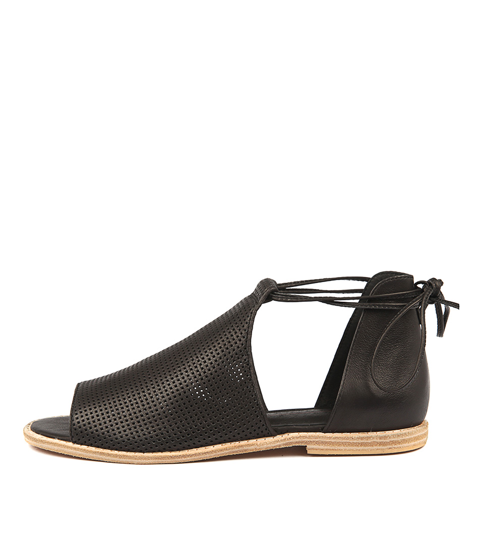 Buy Mollini Nuance Black Flat Sandals online with free shipping