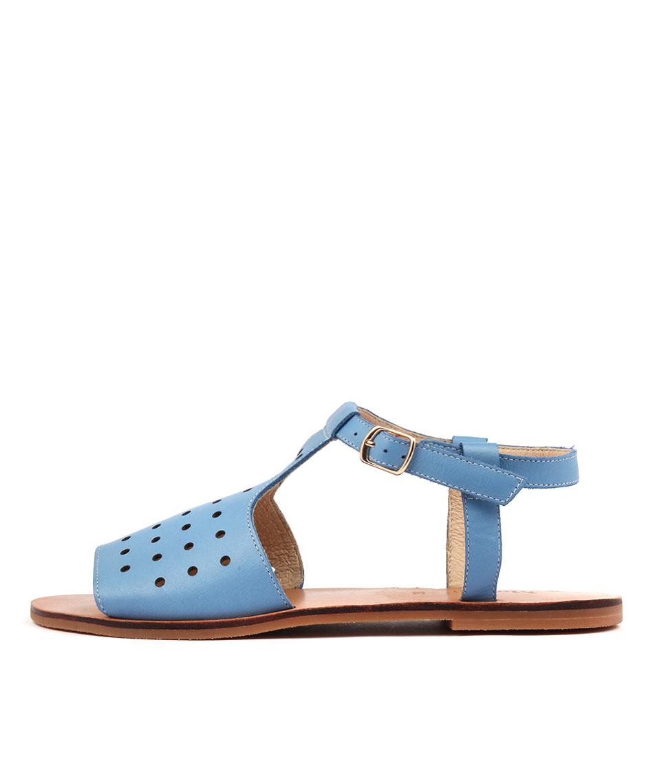 Mollini Onestop Faded Denim Sandals