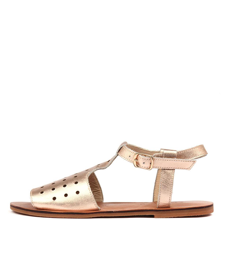 Mollini Onestop Rose Gold Sandals