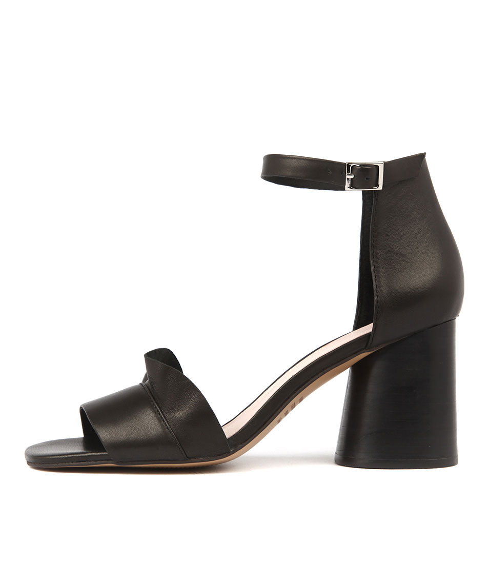 Mollini Novaris Black Dress Heeled Sandals