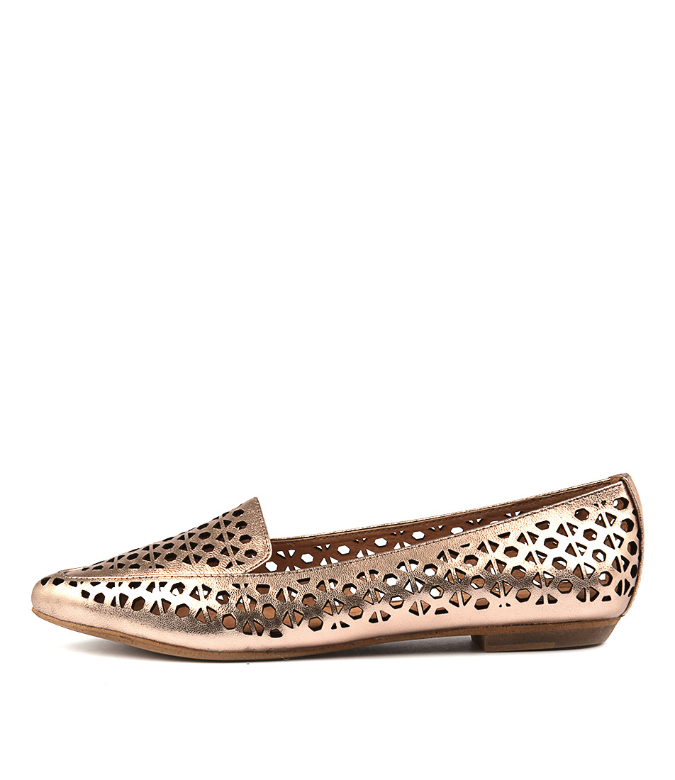 Mollini Geday Rose Gold Flat Shoes