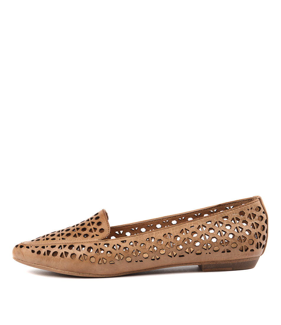 Mollini Geday Tan Casual Flat Shoes