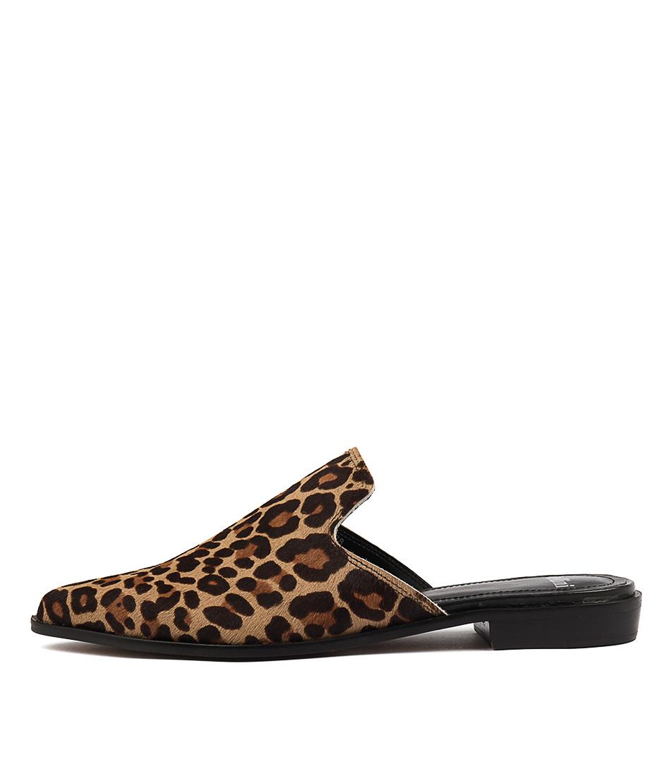 Mollini Holli Ocelot Casual Flat Shoes
