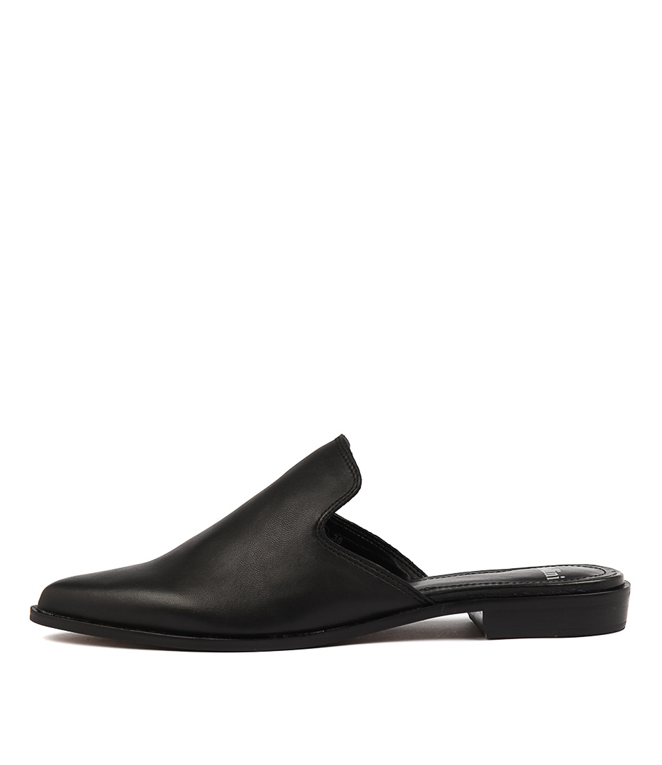 Mollini Holli Black Casual Flat Shoes