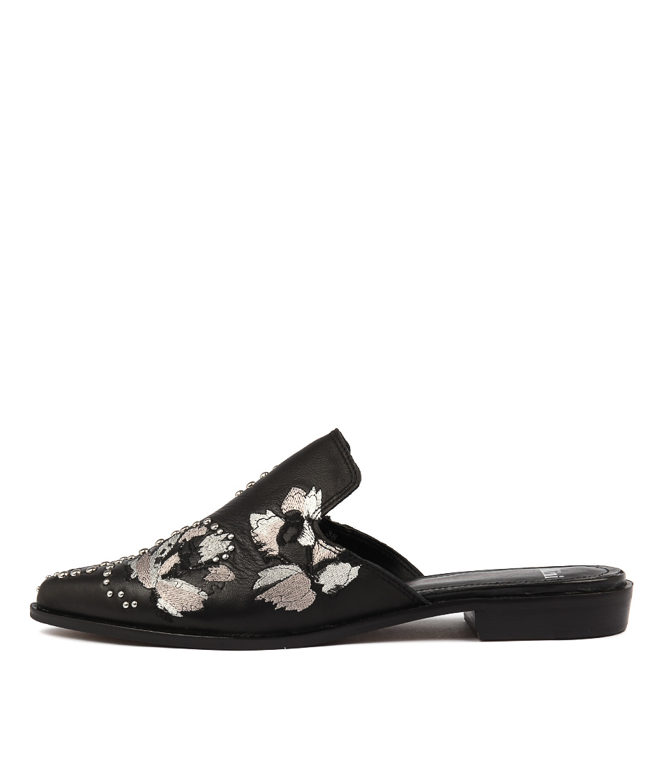Mollini Hagen Black Casual Flat Shoes